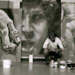 peinture grand format