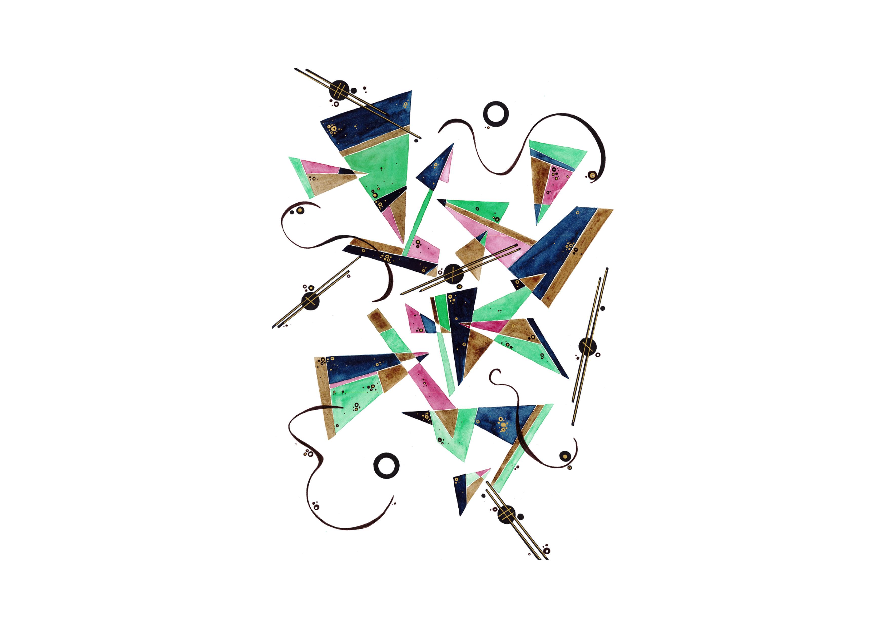 Pratique variée en arts visuels (dessin, peinture, photographie et manipulations d'objets)