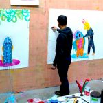 arts visuels/ dessin/ video/ musique