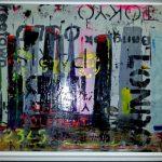 Artiste moderne au style contemporain abstrait