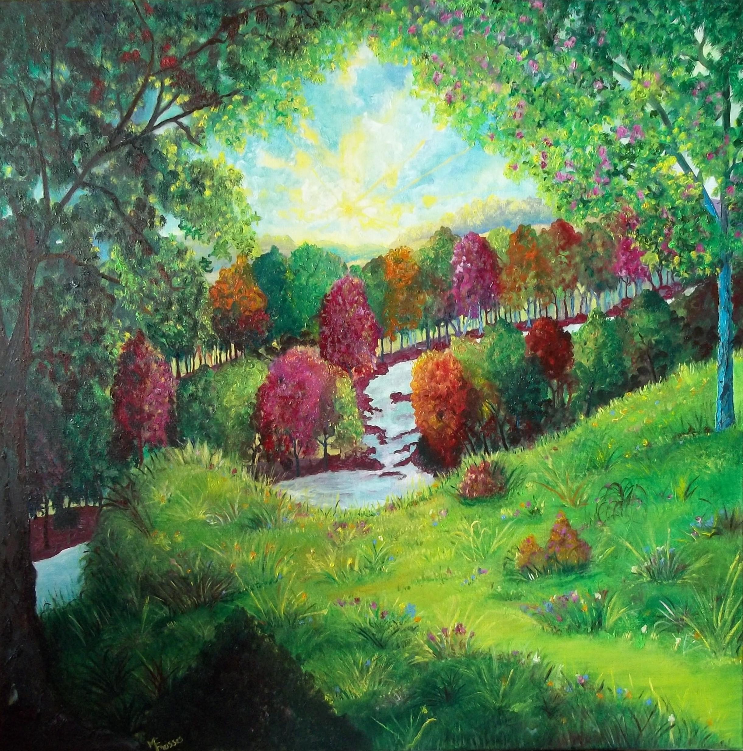 Peintre et auteur cherche un coin de nature