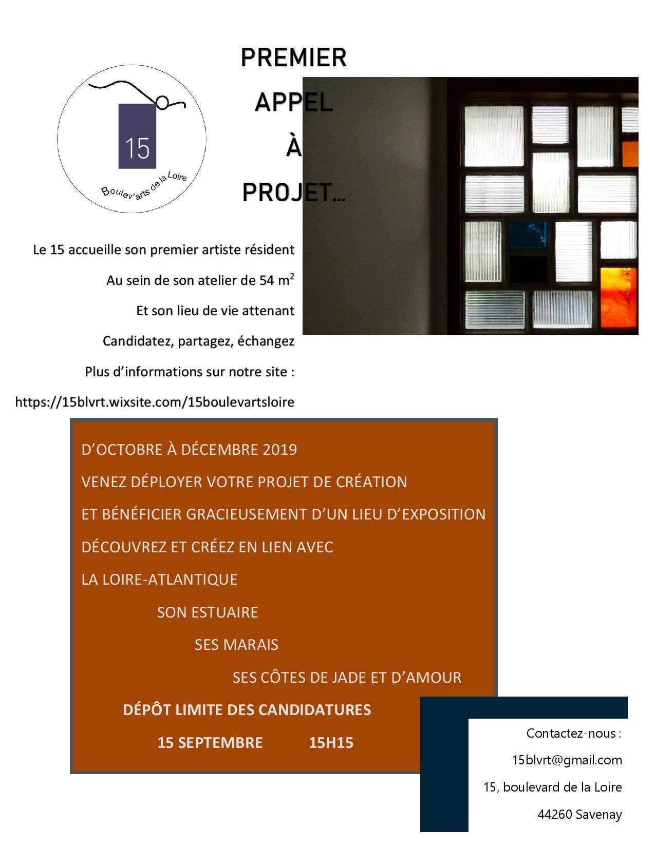 APPEL A PROJET résidence en Loire-Atlantique,