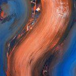Artiste visuel dominicain (Abstraction calligraphique)