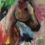 Artiste peintre equin