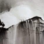 Résidence peinture à l'encre de Chine