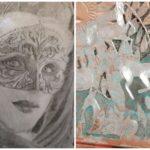 Peinture Acrylique, Au Crayon Ect.